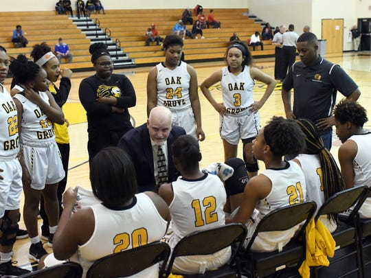 Oak Grove's girls basketball team will face Tupelo at 1:30 p.m. Saturday at Jackson State in a Class 6A state tournament quarterfinals game.