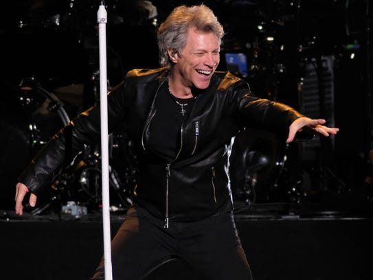 Bon Jovi was making up an April 7 concert that it had