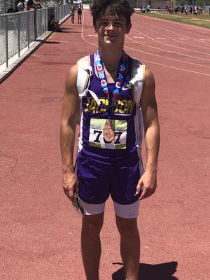 Jackson sophomore Reese Welton earned a medal for his fourth place finish in the long jump at the West Coast AAU Junior Olympics in Las Vegas.