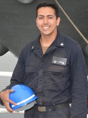 Petty Officer 3rd Class Angel Montejano