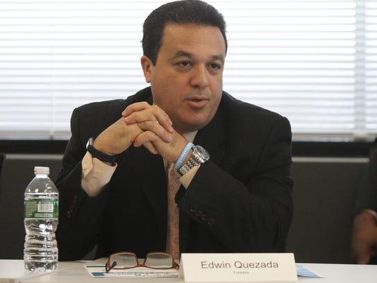 Yonkers Schools Superintendent Edwin Quezada.