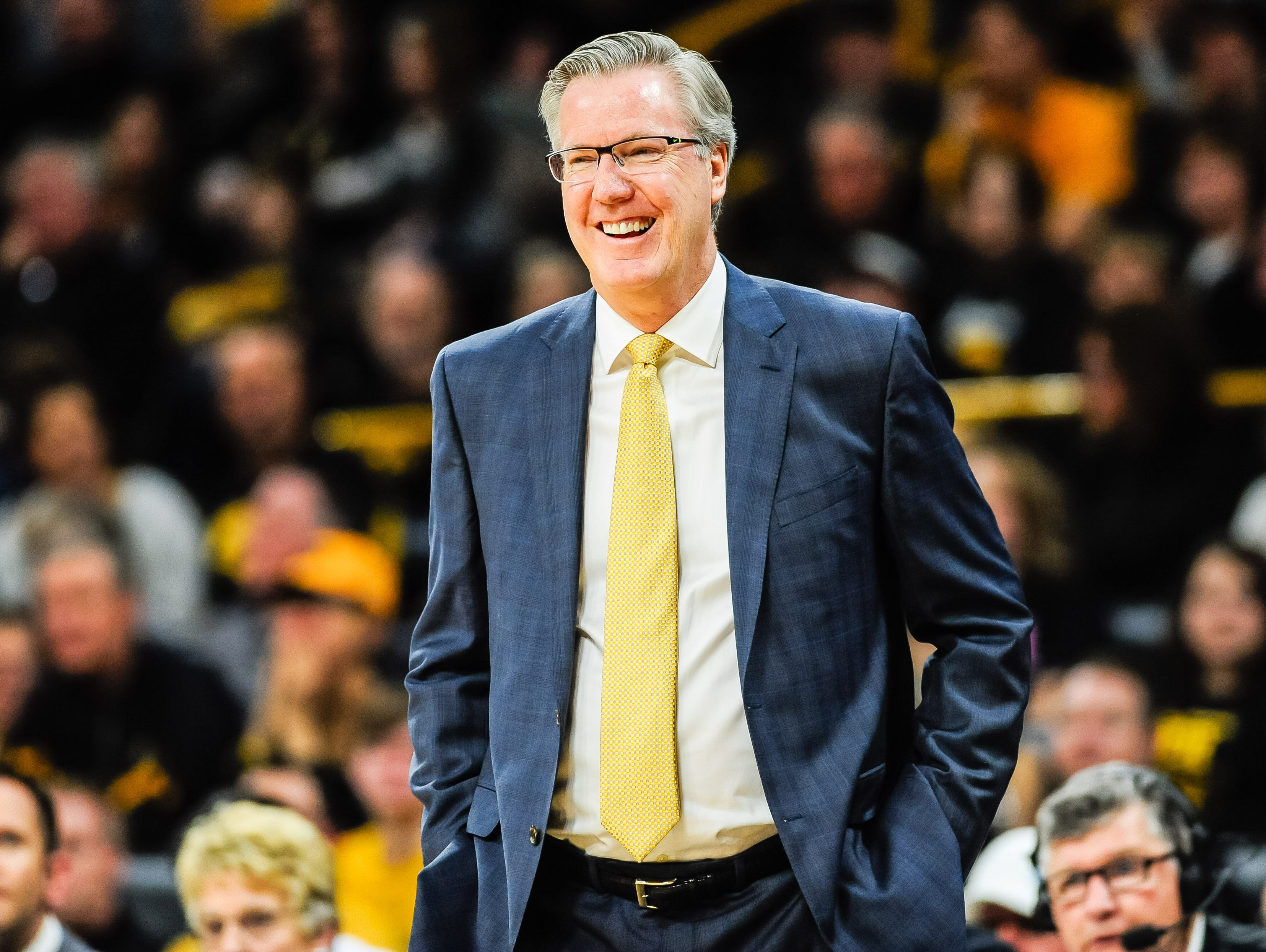 Fran McCaffery will coach his sons Connor and Patrick in college. Both are headed to Iowa.