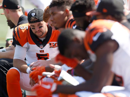 NFL: Baltimore Ravens at Cincinnati Bengals