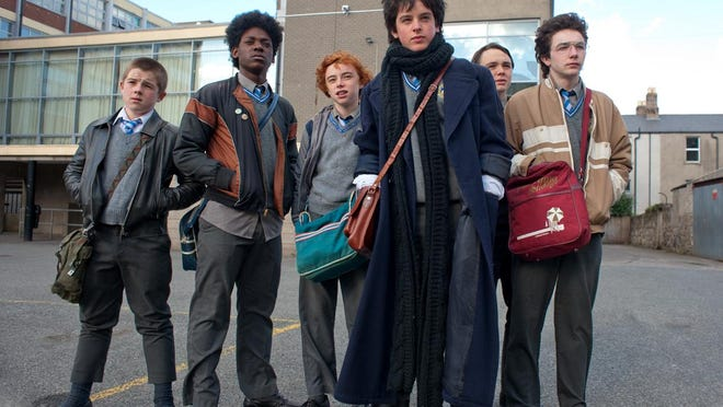 """Sing Street"" tells the story of a group of teenage boys who start a band in 1985 Dublin."