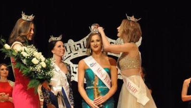 Jennah Motter of Hanover was crowned Miss York County 2017 on Jan. 28.