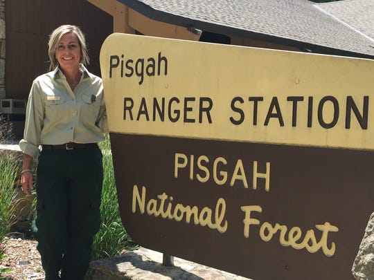 Lorie Stroup is the fisheries biologist for the Pisgah National Forest.