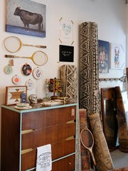 From vintage finds to repurposed furniture and local goods, Apple & Oak carries a little bit of everything.