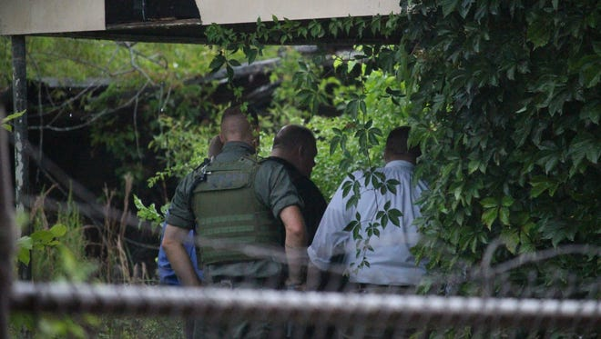 Anderson County Sheriff's Office investigators found a homeless man's body behind a building on Richmond Avenue after receiving an anonymous tip Tuesday. The man was identified as Jesse Lee Alexander, 56.