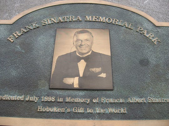 Sinatra Memorial Park in Hoboken is named for the city's most famous son.