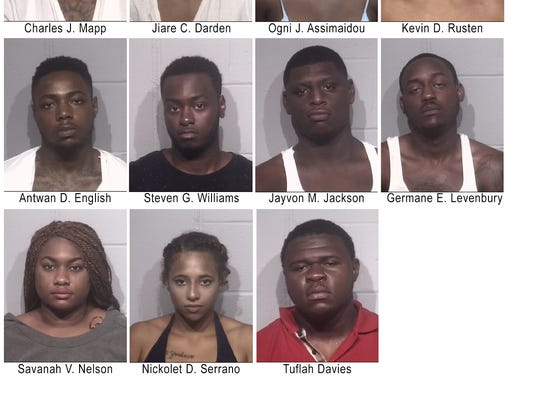 12 people were arrested on Saturday, July 23 stemming