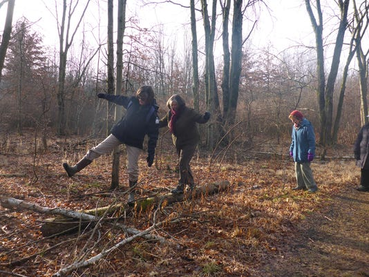 Bernards: 'Forest Fitness' January nature walks PHOTO CAPTION