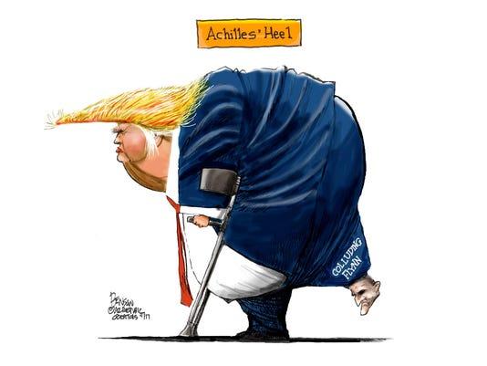 Trump's Achilles' heel