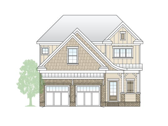 This is a rendering of the single-family homes Regent