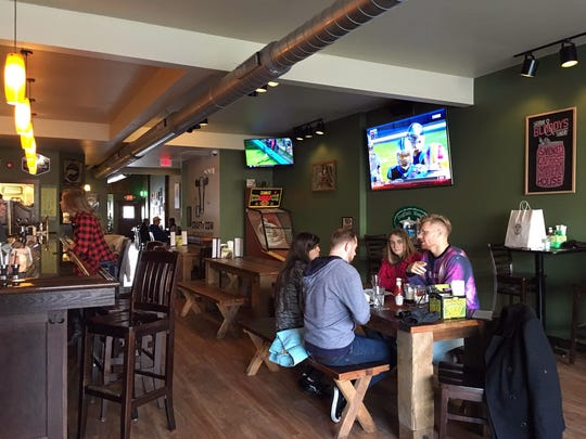 The Crafty Cow in Oconomowoc offers a fun, relaxed atmosphere to go along with its signature burgers.