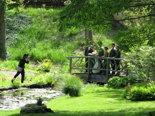The Horticulture Department of the Somerset County Park Commission is accepting reservations for wedding ceremonies and photos.
