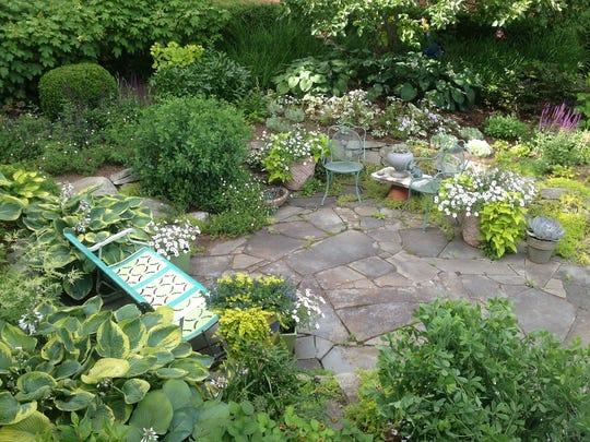 The garden of Teri Condon,  Gardensmith Design in Highland