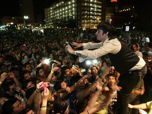 The Omar Rodriguez Lopez Group co-headlines the Neon Desert 2011
