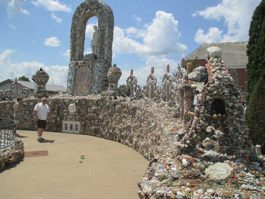 The Dickeyville Grotto.