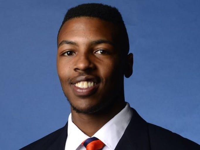 Mitchell redshirted this season for the Auburn Tigers