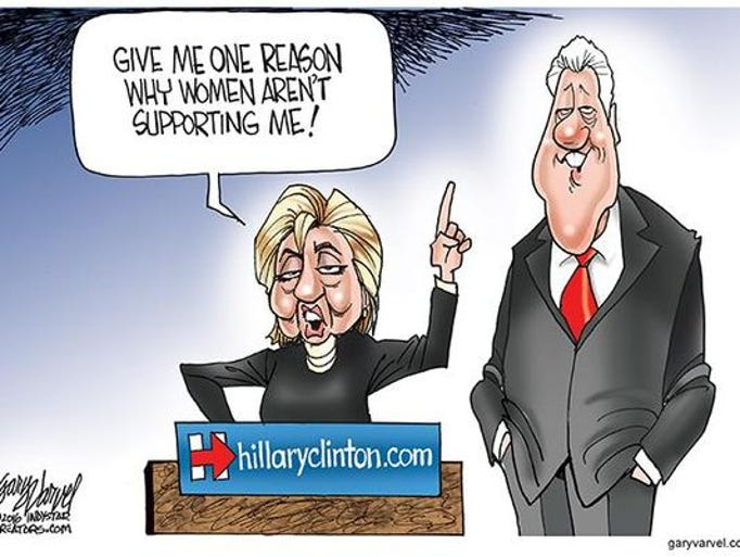 Editorial cartoons on Election 2016