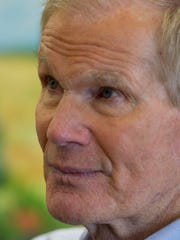 U.S. Sen. Bill Nelson spoke at the Indian River County