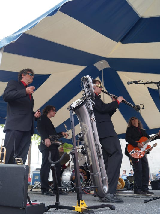 Terry Oates and The Mudcats was one of the three bands on the line-up Saturday at Blues, Brews and Barbecue at Capitol Theatre in Chambersburg.
