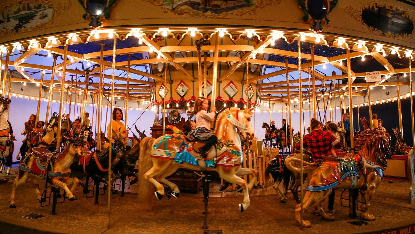 children u0027s museum of indianapolis carousel turns 100