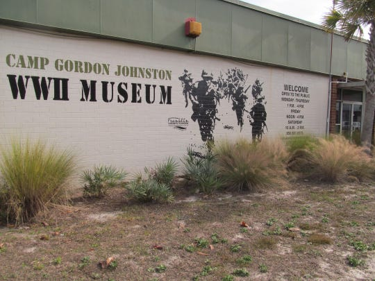 The Camp Gordon Johnston Museum has been housed in a wing of the former Carrabelle School since 2008. In 2015, efforts were underway to build a new museum on U.S. Hwy. 98.