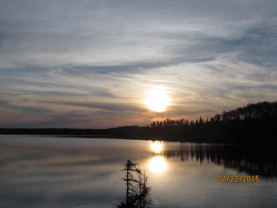 """Day 6: The crew journal notes """"beautiful"""" skies, a slight breeze and a moose sighting."""