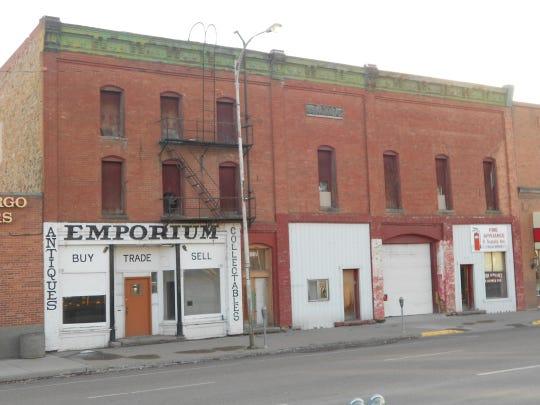 The Arvon Block in 2011, prior to a $7.5 million renovation.