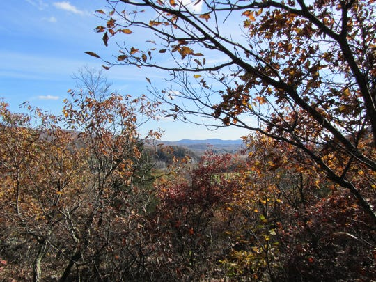 This view of East Mountain is seen from the 50 acres of additional land that has been added to the Dover Stone Church Preserve