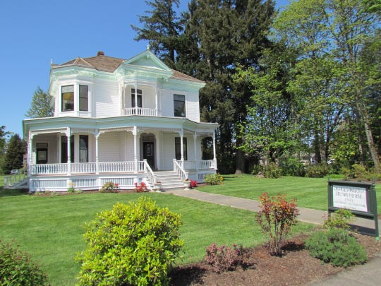 Santiam Heritage Foundation recently received a $9,000 grant from the Oregon Cultural Trust, which will help fund the ongoing restoration of the Brown House in Stayton.