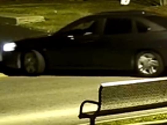 A 2011 gray Chevrolet Impala was stolen in the Garden