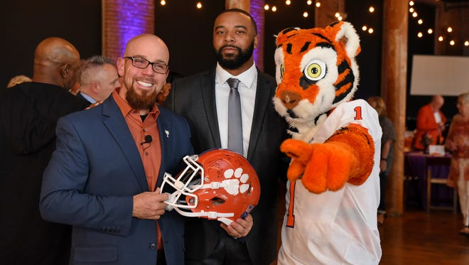 The 3rd Annual  Tajh Boyd Foundation Gala was held @ The Loom at Cotton Mill Place in Simpsonville, S.C. Friday, March 23, 2018 .
