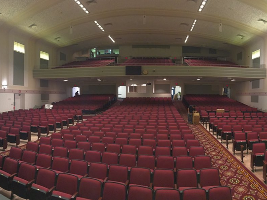 The Dale K. Hidde Theatre at Wauwatosa East High School