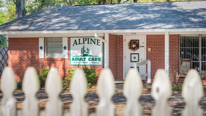 Alpine Adult Care Assisted Living in Pensacola on Tuesday, March 21, 2017.