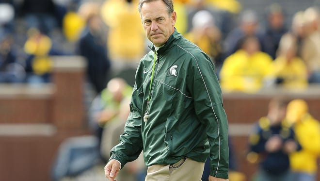 Mark Dantonio made his mark at Michigan State first by flipping the script with rival Michigan. He has more work to do.