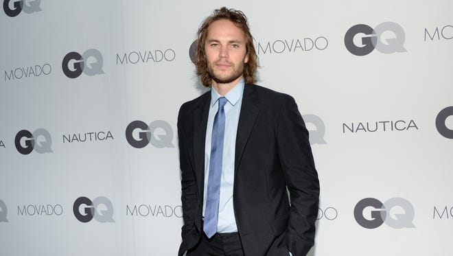 Actor Taylor Kitsch, seen here at an event last week in New York, is talking about being cast in 'True Detective.'