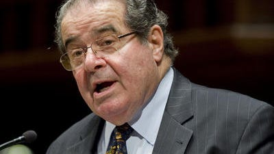 "Supreme Court Justice Antonin Scalia has said he doesn't read all amicus briefs but his clerks do and if there's one that has a ""hidden truffle...they call it to my attention."""