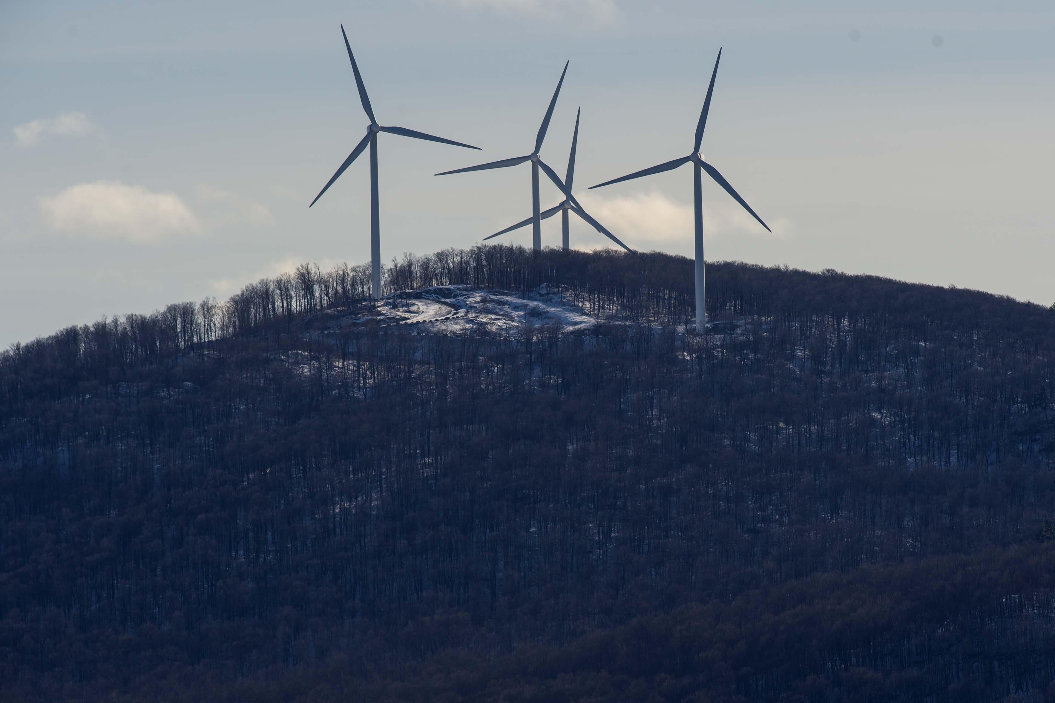BUR20160121WIND1 Buy Photo. The Four Wind Turbines ...