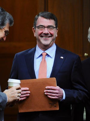 Defense Secretary Ashton Carter plans to push a series of retirement proposals, including a 401(k)-style pension plan, for troops.