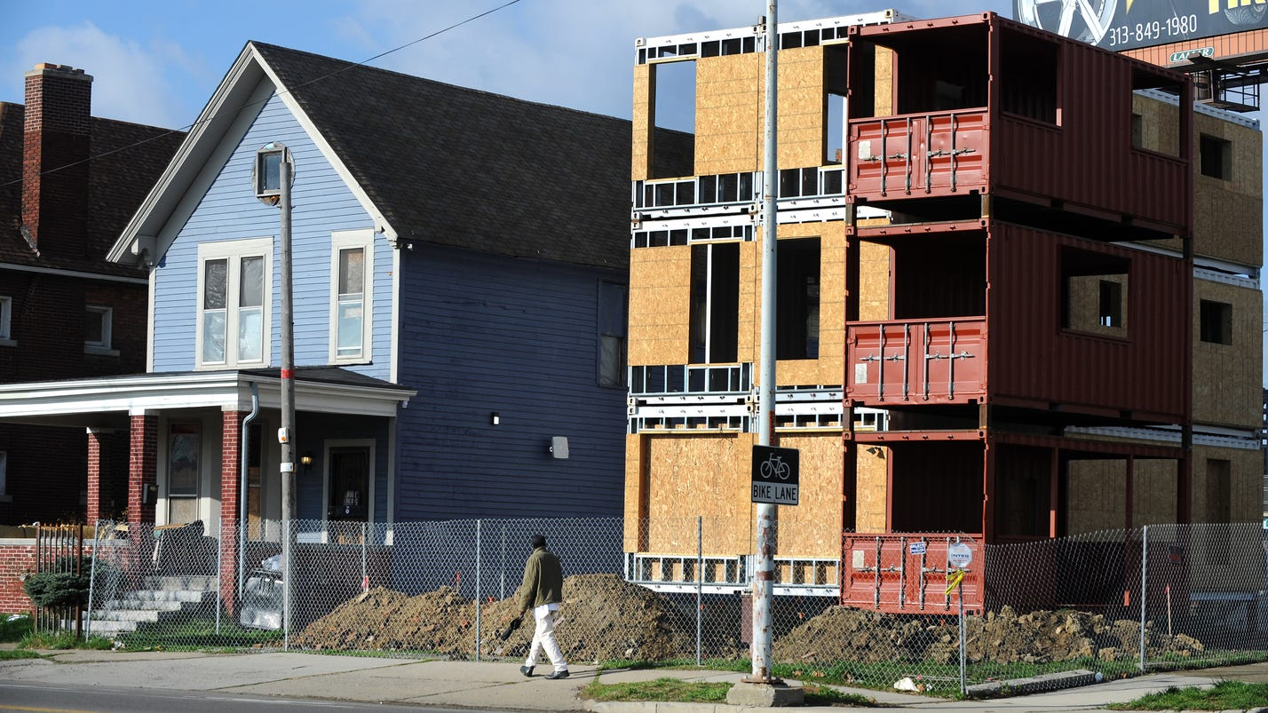 construction starts on shipping container housing