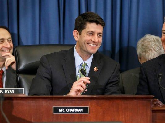 House passes Paul Ryan's budget