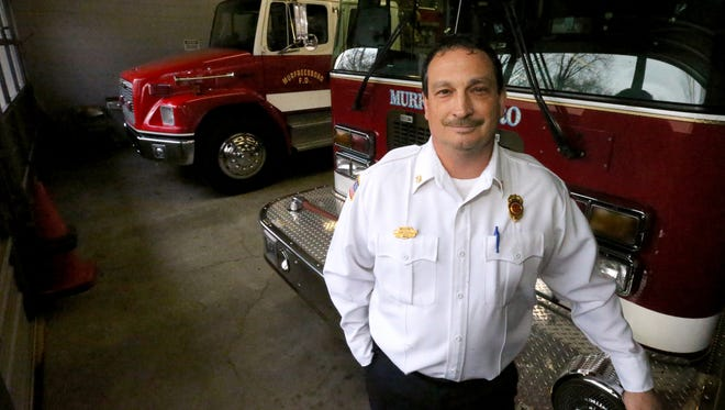 Murfreesboro Fire Chief Mark Foulks at the Murfreesboro Fire & Rescue Station 4 on Feb. 25, 2016