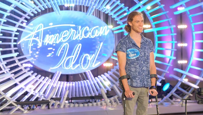 """Knoxville native David Francisco auditions for """"American Idol."""""""