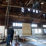 Lancaster Campground auditorium work in final stages