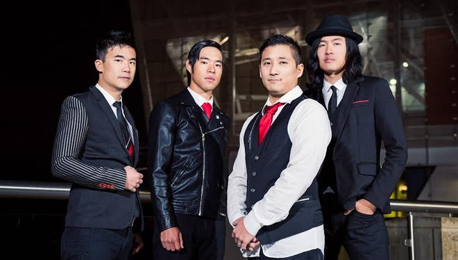 The Supreme Court heard a trademark registration case Wednesday brought by The Slants, an Asian American dance rock band,