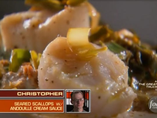 Chef Christopher Thames, a Chopped champion, and his