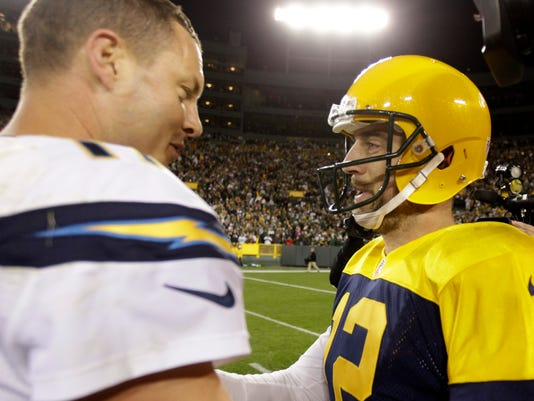 Philip Rivers, Aaron Rodgers