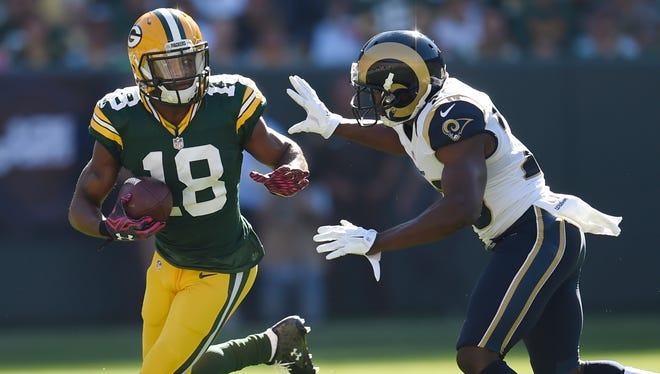 """Green Bay Packers wide receiver Randall Cobb said of Sunday's game against Denver: """"The bigger the stage, the more fun of a game it is."""""""